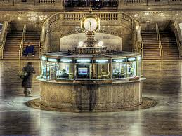 Grand Central Terminal, Information Booth and Clock