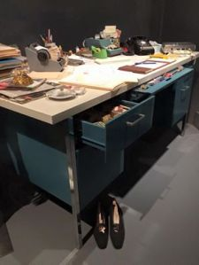 1960s secretary's desk