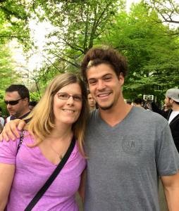 me and Zach Rance, from BB16